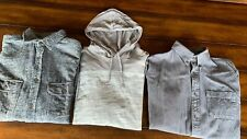 Lot 3 Mens S Assorted Brands Hoodie Button-Up Croft & Barrow Urban Pipeline