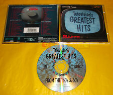 TELEVISION'S GREATEST HITS FROM THE 50'S AND 60'S - CD - 1996 - USATO