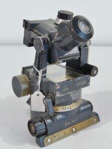 Richtkreis 40 für Artillerie, Originallack, Durchsicht defekt, Hersteller cme