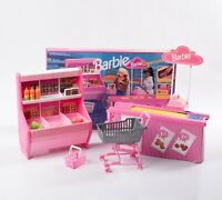 Mattel Barbie SuperMarket No. 7573 Vintage Play Set Toy 1992