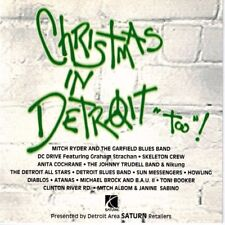 "Christmas in Detroit ""Too""! - V/A (CD 1994) DC Drive, Howling Diablos, Albom"