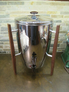 Mid-Century Regal Stainless Automatic Electric Coffee Percolator, Atomic