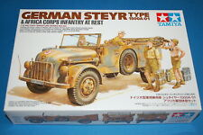 Tamiya 35305 - German Steyr Type 1500/01 & Africa Corps Infantry scala 1/35