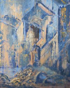 Barbara Doyle (b.1917) - 1963 Oil, Demolition
