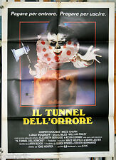 manifesto 2F film IL TUNNEL DELL'ORRORE - THE FUNHOUSE Tobe Hooper 1981
