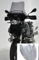 Pare Brise Bulle Saute Vent ERMAX HP+15 / 45 cm BMW R 1200 GS 04-12 gris