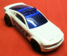 2003 HOT WHEELS-1/64 White Diecast-Ford Mustang GT Concept Police Car-LN-Thailan
