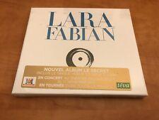 DOUBLE CD BOX LARA FABIAN LE SECRET (NEUF)