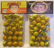 2 Bags Of Mad Comic Books 10 Cents Promo Marbles