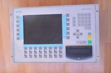 SIEMENS SIMATIC OPERATOR PANEL OP37   6AV3 637-1ML00-0FX0   COLOR