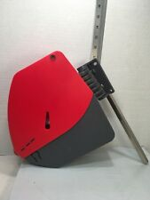 TURN-O-MATIC D-900 Red/Gray Ticket Dispenser w/ Mount and Partial Ticket Spool