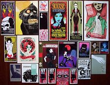 SIOUXSIE & THE BANSHEES Pretty Girls Graves Goth Rock Concert mini Posters SET