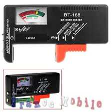 Testeur de Piles AA A C D 1.5 9 V LR 03 6 14 Batteries Bouton Tester Noir BT-168