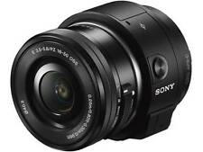 SONY ILCE- QX1L Power zoom lens kit lens style camera USED NEAR MINT