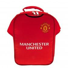 MANCHESTER UNITED F.C. OFFICIAL TEAM KIT SHAPED LUNCH BAG