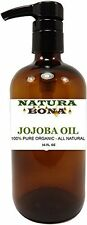 Narura Bona's Pure Organic Moisturizing Jojoba Oil for Skin, Hair, Massage an...