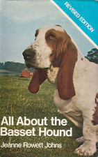 BASSET HOUND (All About) Jeanne Rowett Johns **GOOD COPY**