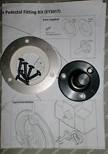 Raymarine Autohelm st4000 Mk2 Rueda piloto Plana pedistal Kit e15017 spx5