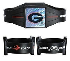 "Georgia Bulldogs Ionic Bracelet Balance 7.5"" Power Force Hologram Dual Sport UGA"