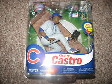 McFarlane MLB 2012 Series 29 Starlin Castro Chicago Cubs Grey Jsy CL1705/2000