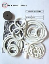 1967 Gottlieb Diamond Jack Pinball Machine Rubber Ring Kit