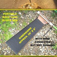 Sluice box for gold mining prospecting 5 videos, panning, GOLD sluicing box