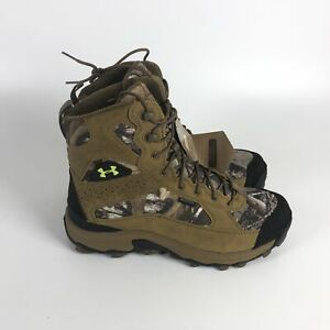 Under Armour Speed Freek Bozeman Hunting Boots Mens Size 8.5 Camo 1250115-946