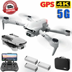 F10 GPS WIFI FPV Quadcopter With Foldable Wide Angle HD 4K Dual Camera Drone FPV