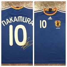 Authentic Adidas Nakamura #10 Football Soccer Jersey SML Signature Ed. 2009
