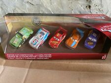 Disney Pixar Cars PISTON CUP COMPETITION 5 CARS RARE COLLECTOR