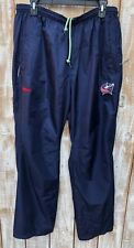 Columbus Blue Jackets Men Reebok Center Ice Collection Navy Training Pants Sz L