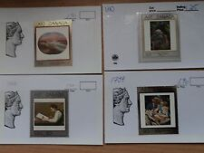Canada 1998 - 2000 Selection of 11 Masterpieces of Canadian Art stamps MNH