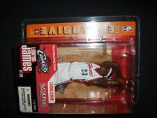 McFarlane NBA 2004 Exclusive LeBron James White jersey Cleveland Cavaliers rooki