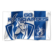 Official AFL North Melbourne Kangaroos Game Day Large Flag (NO STICK/FLAG POLE)