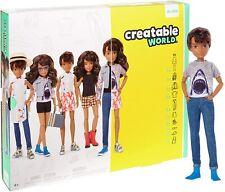 Mattel Creatable World Deluxe Character Kit - Brunette Hair. Doll NRFB