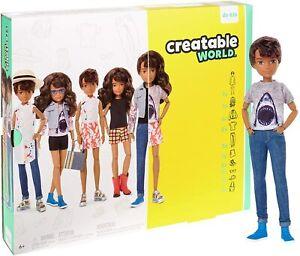 Mattel Creatable World Deluxe Character Kit - Brunette Hair. Brand New Doll NRFB