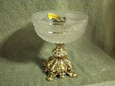 CANDLE HOLDER DEKRA LEADED CRYSTAL HAND CUT GLASS MADE IN GERMANY CANDLESTICK 6""