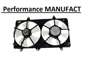 Engine Cooling Fan Assembly-A/C Condenser Fan Assembly fits 98-02 Corolla 1.8L