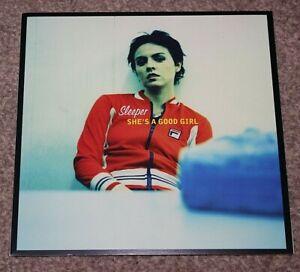 """SLEEPER SHE'S A GOOD GIRL 1997 UK 7"""" LTD ,NUMBERED + POSTER,  SLEEP 015, NM/NM"""