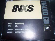 INXS Everything Rare Radio Promo CD Single – Like New