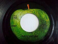 John Lennon Cold Turkey / Don't Worry Kyoko 45 1969 Apple Vinyl Record
