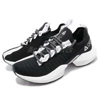 Reebok Sole Fury Black Grey White Women Running Fashion Shoes Sneakers DV4485