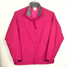 Nike Golf Womens Size L Pink Full Zip Storm Fit Jacket Weather Resistant B4-25
