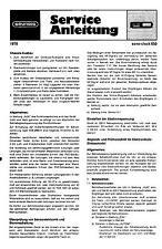 Grundig Service Manual für sono-clock 650