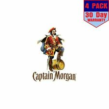 Captain Morgan Rum 4 Stickers 4x4 Inches Sticker Decal