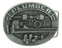 Plumber  Trade Tradesman Original Metal Belt Buckle