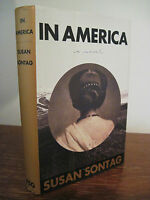 1st Edition In America Susan Sontag National Book Award First Printing Fiction