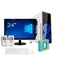 "Pc desktop quadcore 3.80ghz / hdd 1tb/ram 8gb/monitor 24"" pc assemblato completo"