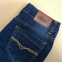 Diesel Jeans Basic Straight Zip Fly Blue Vintage Women's (LabelW29) W 28 L 32