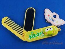 Mini Mirror + Comb Hello Kitty Keroppi Frog Make Up Kit Ornament for Kid K1316 B